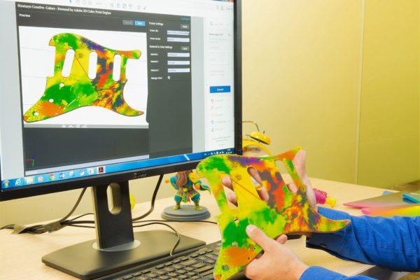 wydrukowany w 3D element produktu