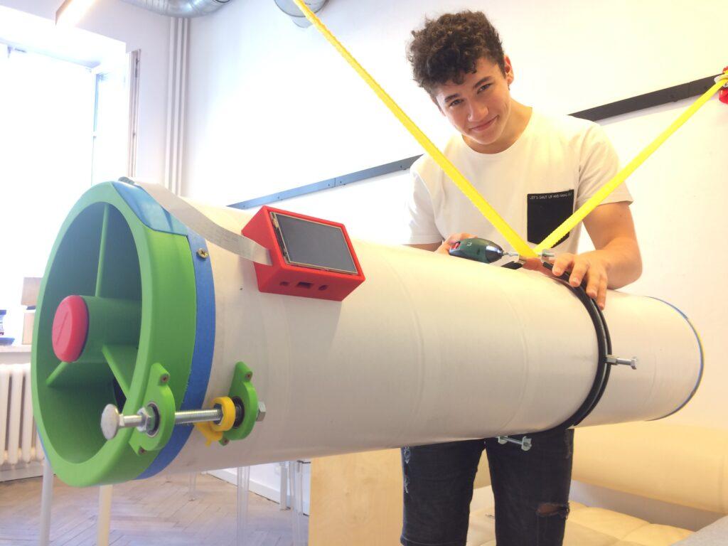 druk 3D w stworzeniu teleskopu