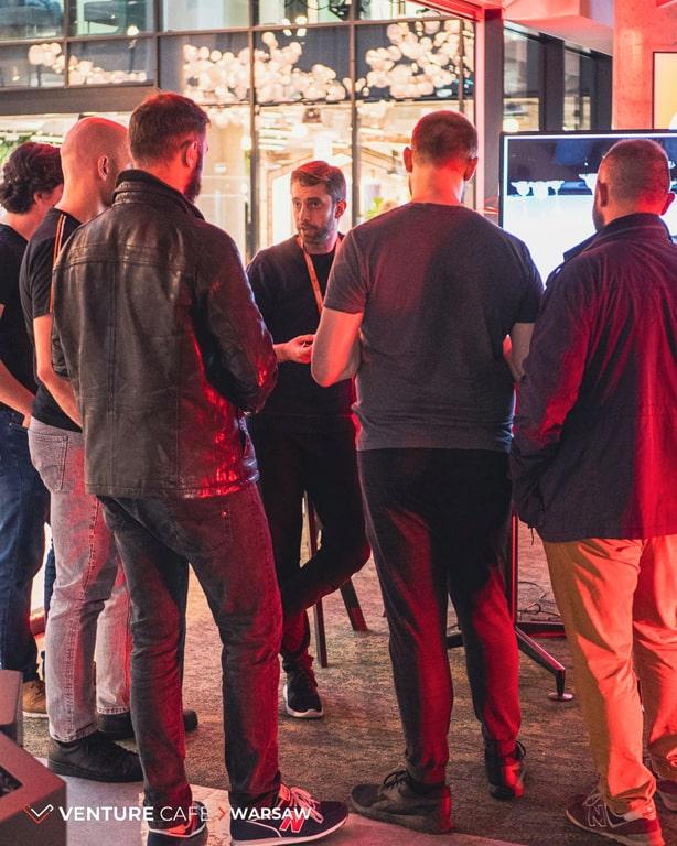 Sygnis podczas Venture Café w CIC Warsaw