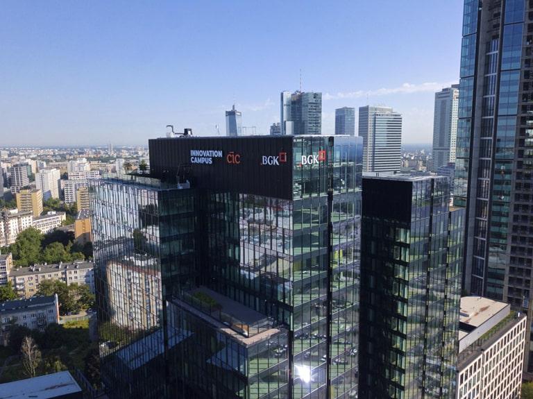 Cambridge Innovation Center mieszczący się na ul. Chmielnej 73 w Warszawie